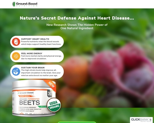 Beets - Ground-Based Nutrition