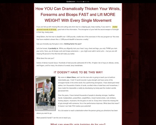 Get Industrial Strength Grip Volume 2!