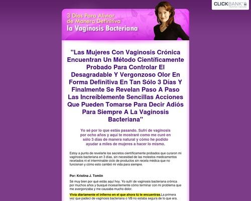 3 Días Para Aliviar de Manera Definitiva la Vaginosis Bacteriana