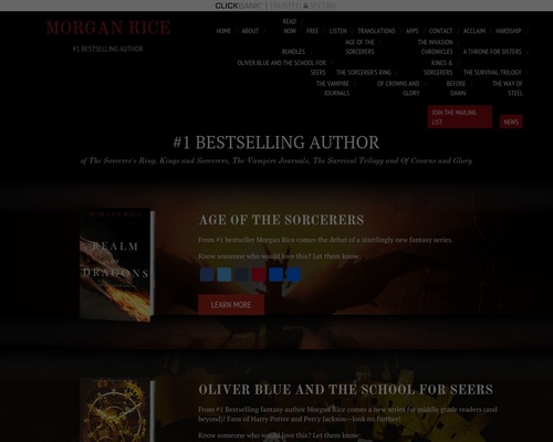 The Official Site of Morgan Rice the #1 Best selling author