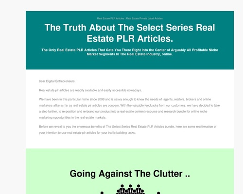 Private Label Rights Real Estate & Mortgage Articles And Ebooks