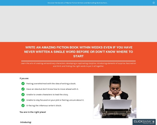 My Fiction Writing – Discover the Secrets of Master Fiction Writers and