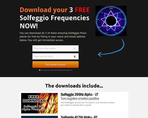 Free solfeggio downloads - 396Hz, 417Hz and 528Hz — Personal