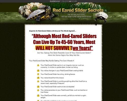 Red Eared Slider Secrets - The Red Eared Slider Secret Manual