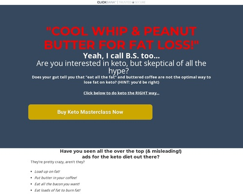 Peanut butter cool whip  - Clickbank Version