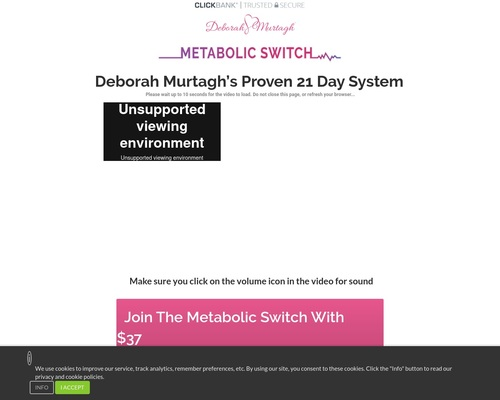 TMS-The metabolic Switch for click bank