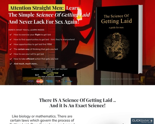 The Science Of Getting Laid - The Science Of Getting Laid (For Straight Men)