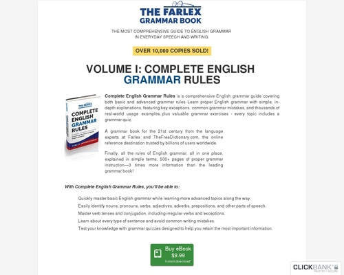 The Farlex Grammar Book