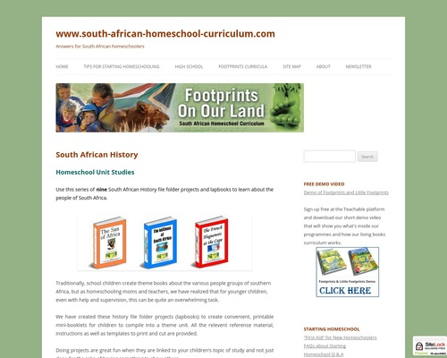South African History - www.south-african-homeschool-curriculum.com