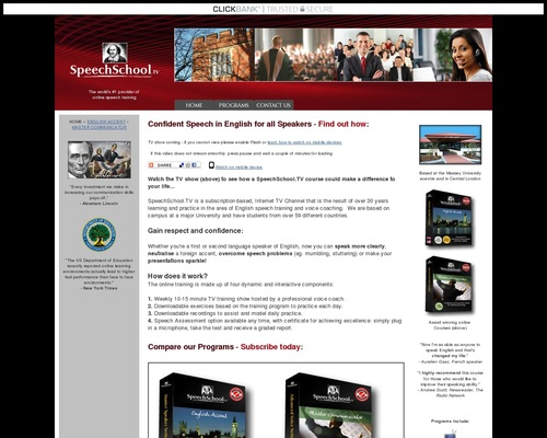 SpeechSchool.TV: Learn English Accent, Learn English, Elocution Lessons,