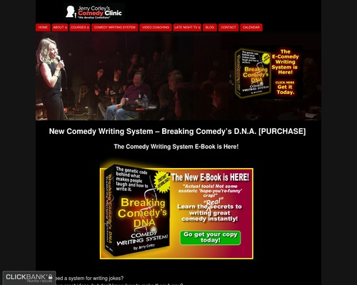 New Comedy Writing System - Breaking Comedy's D.N.A. [PURCHASE] - Stand
