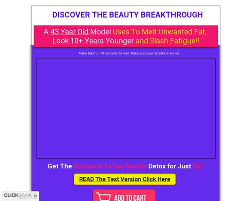 14 Day Beauty Detox LV