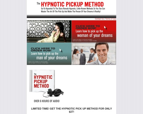 The Hypnotic Pickup Method