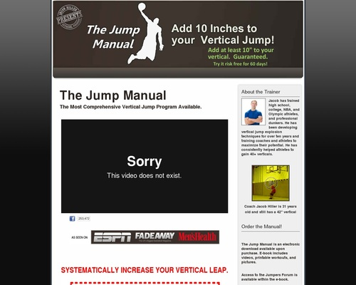 The Jump Manual Is Converting Like Crazy!