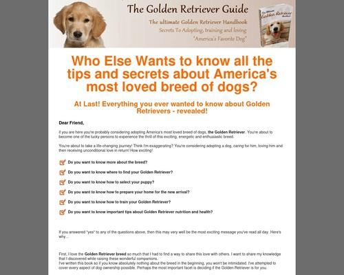 Golden Retriever eBook