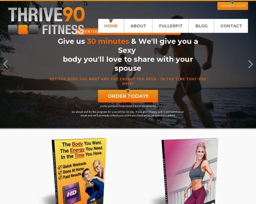 Thrive90 Fitness Program