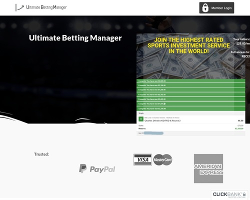 UFC Betting Tips - Ultimate Betting Manager