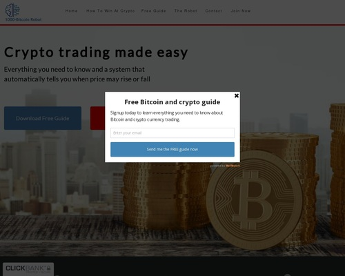 The Bitcoin Trading Bot is under construction