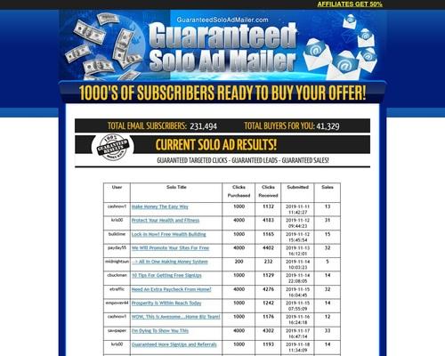 New FACEBOOK SOLO AD BLASTER - GET 5000+ GUARANTEED CLICKS - SALES GUARANTEED