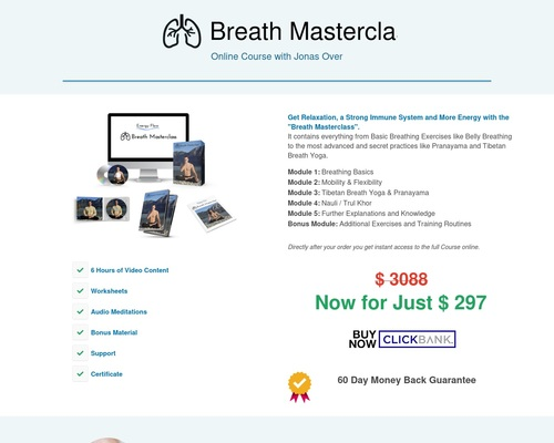 Breath Masterclass