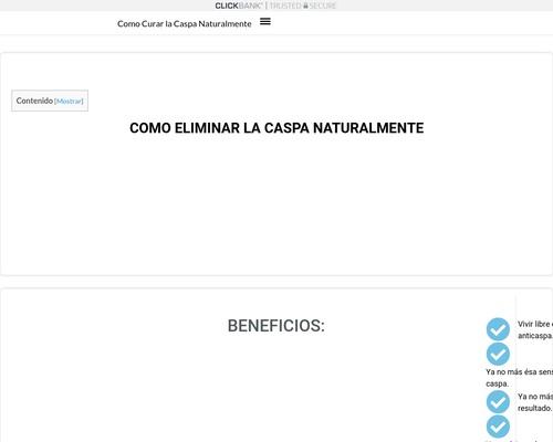 ➤ GUIA DEFINITIVA PARA ELIMINAR LA CASPA NATURALMENTE 2020 ◁