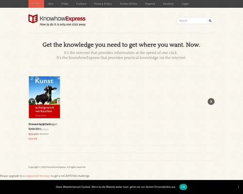 KnowhowExpress: How to do it is only one click away