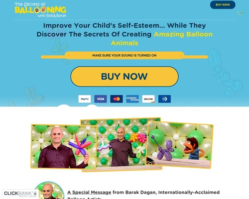 The Secrets of Ballooning – Improve Your Child's Self-Esteem by