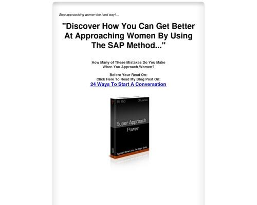 Approach Women Using The Dragon Tactics