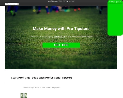 Make Profits with Daily Football Tips
