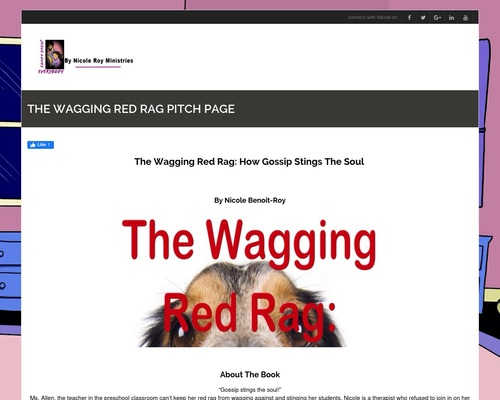 The Wagging Red Rag Pitch Page - Nicole Roy Ministries