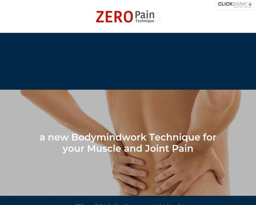 ZERO Pain 101 – WordPress
