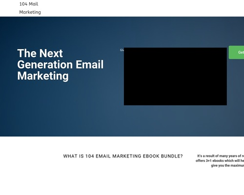 104 Mail Marketing – The Next Generation Email Marketing