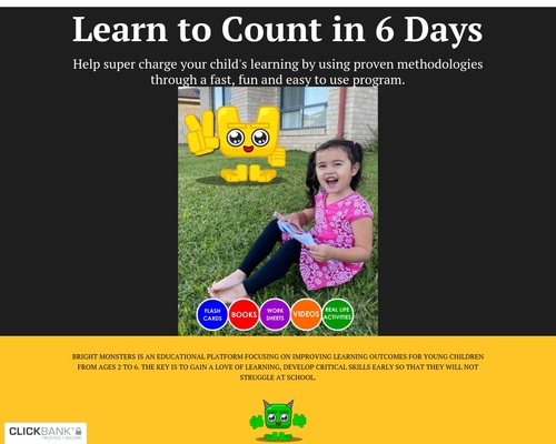 Learn to Count in 6 Day...