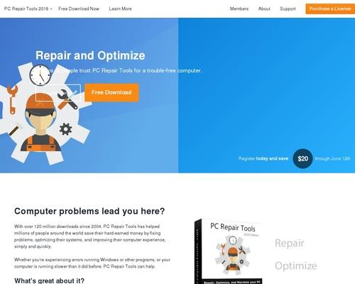 PC Repair Tools - Repair & Optimize your PC