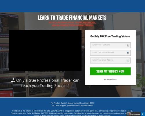 (1) Free Trading Secrets | Antron Kreil