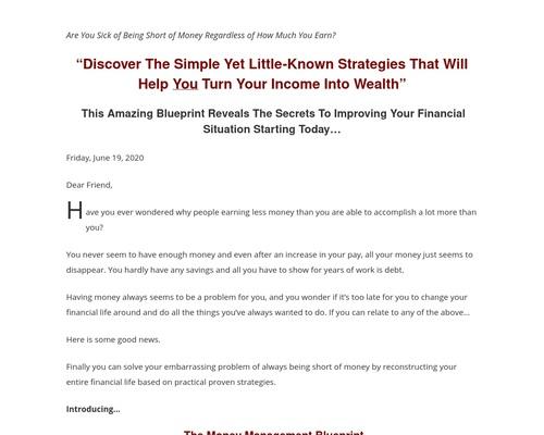 - The Secret Formula For Wealth Blog
