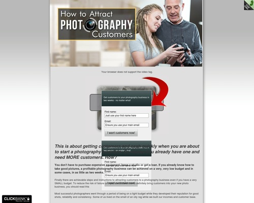 Learn How to Attract Photography Business Customers Today!