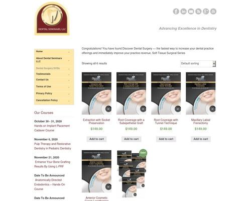 Dental Surgery DVDs | Dental Seminars