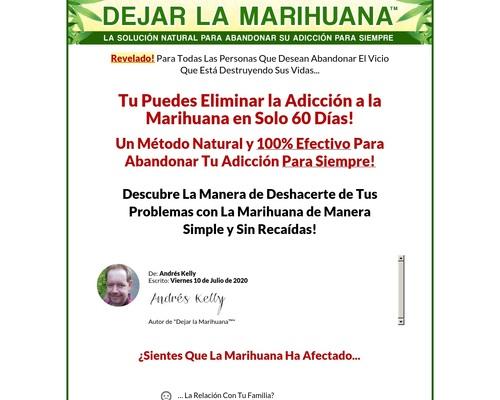 Dejar La Marihuana. 100% De Comisión!