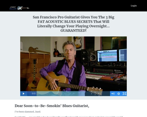 Ultimate Acoustic Blues Guitar Lessons