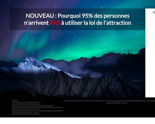 Nouveau Produit 2020 : Loi De L'attraction !