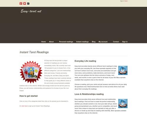 Tarot Reading Membership Site