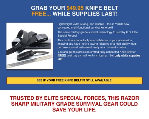 FreeBeltKnife.com