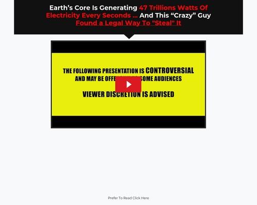 Ground Power Generator - Video Presentation