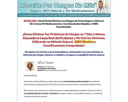 Infeccion Por Hongos No Mas. 100% De Comisión!