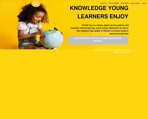 KYLE® Care - Knowledge Young Learners Enjoy | KYLE Care