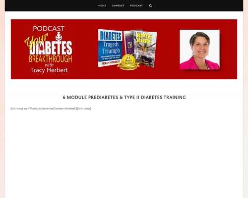 6 Module Prediabetes & Type II Diabetes Training – Your Diabetes