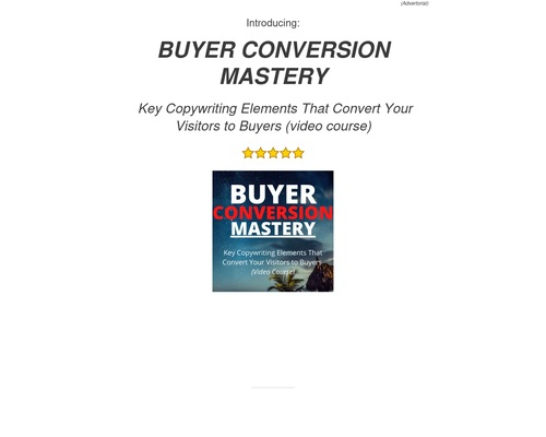 buyerconversionmastery-cbproductpage – Factal Freedom – Wisdom