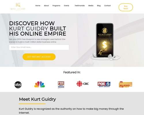 How To Build An Online Empire - Kurt Guidry Marketing
