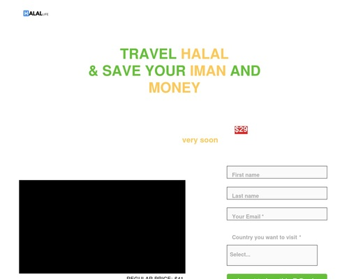 Halal Travel Guide E-Book